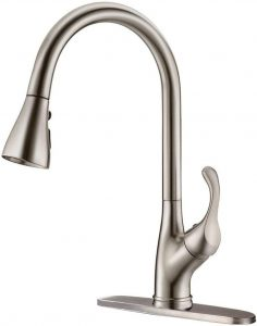 2. APPASO Pull Down Kitchen Faucet with Sprayer