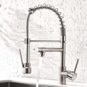 2. Aimadi Contemporary Kitchen Sink Faucet